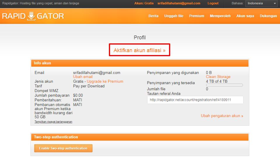 Cara Mendapatkan Uang Hanya Dengan Upload File | IDCopy | Jual ...