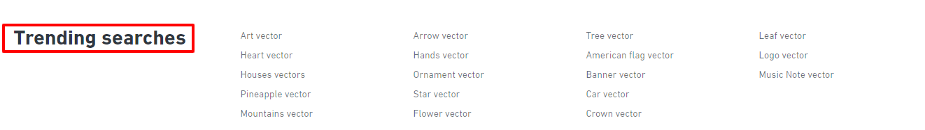 vektor tranding