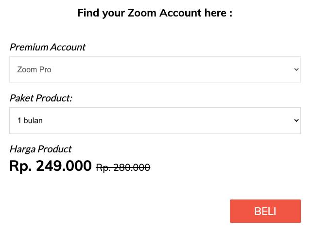 Jasa Bayar Zoom Pro IdCopy