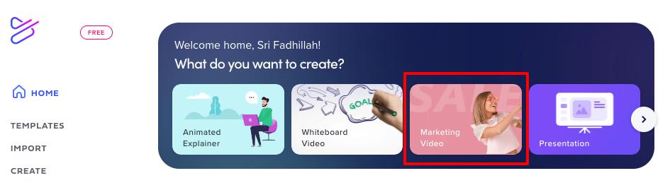 cara membuat video yang mudah