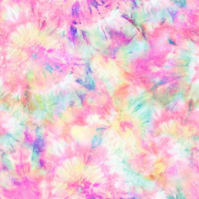 Gambar Tie Dye dan Pastel pada Zoom