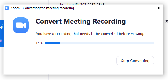menyimpan file rekaman ke ruang penyimpan lokal di komputer pada zoom