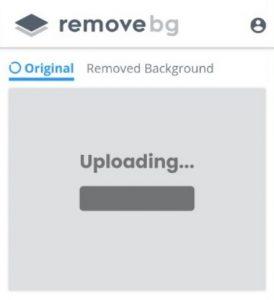 menggunakan remove bg untuk menghapus bg
